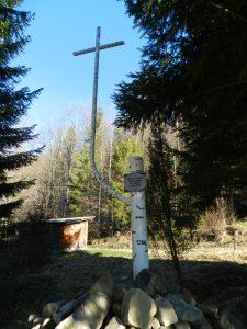 Хрест у пам`ять всіх загиблих пластунів