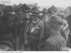 Байден-Пауелл під час візиту в Польщу, вересень 1933-го