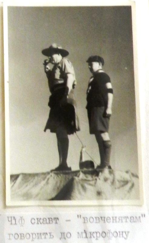 Чіф-скаут, Ювілейна Пластова Зустріч з нагоди 35-ліття Пласту, Аусгбург, 1947