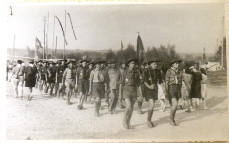 Олександер Харченко: подорож на Джемборі у Франції 1947
