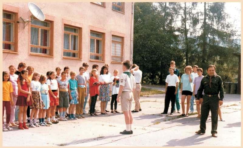 З діяльності Пласту в Словаччині