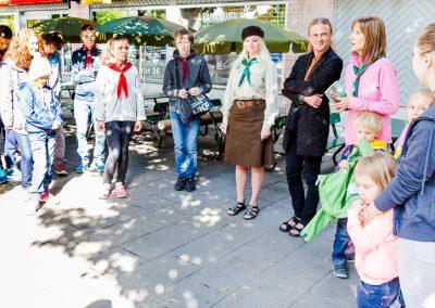 Відкриття пластового року у Швеції