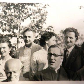 Зустріч сеніорату та УСП з Сірим Левом та монс. Греськом (1952 або 1953 рік)