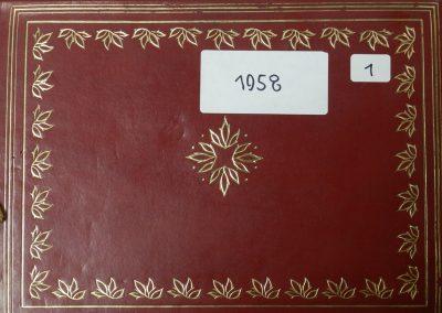Хроніка гуртка Калина, США, 1958-1959