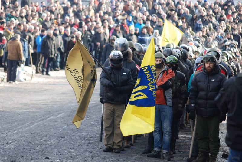 Пластуни - активні учасники Революції гідності, Київ, листопад 2013-березень 2014