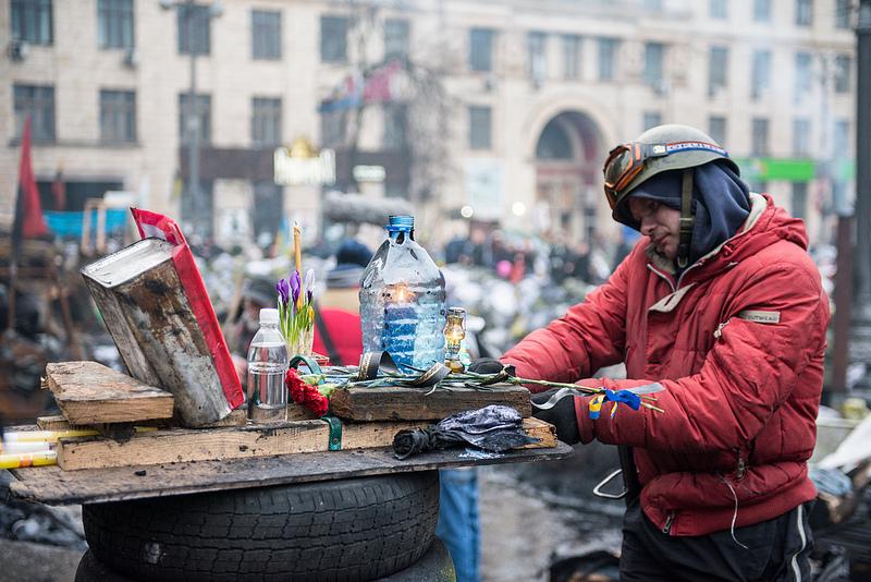 Євромайдан в об`єктиві пластуна і фотографа Артема Жукова