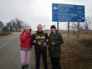 За 15 км від Донецького аеропорту. Слава нашим кіборгам!