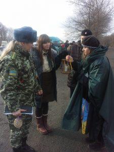 Пластуни передали Вифлеємський вогонь скаутам Молдови
