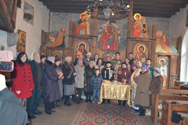 Передача Вифлеємського Вогню Миру 2014, Естонія