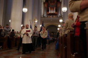Передання Вифлеємського вогню миру громаді Мюнхена (Німеччина)