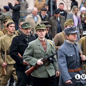 Військова реконструкція, Львів, 2012, фото Петра Задорожного