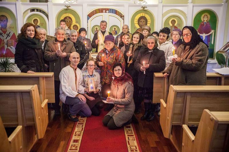 Вифлеємський вогонь миру запалав для українців Мармарощини, Румунія