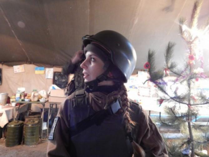 Пластунка з Івано-Франківська про перебування в зоні АТО: «Ми не маємо права програти інформаційну війну»