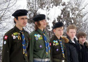 Відзначення 73-ої річниці Карпатської України, Хустський замок