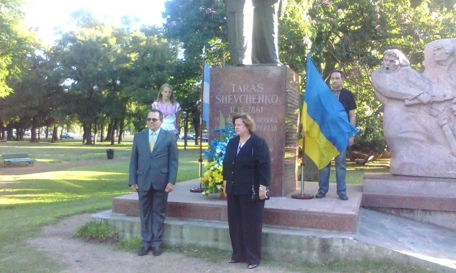 День Соборності України, Аргентина, 22 січня 2015