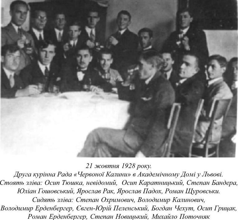 Друга курінна рада Червоної Калини, 21 жовтня 1928 рік