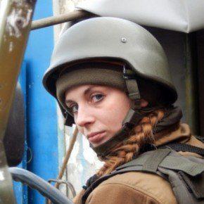 "Пластунка Наталя Коцкович - боєць батальйону ""Азов"""
