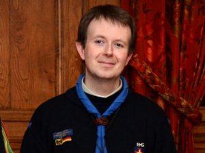 Федеральний комісар європейських скаутів Мартін Гафнер