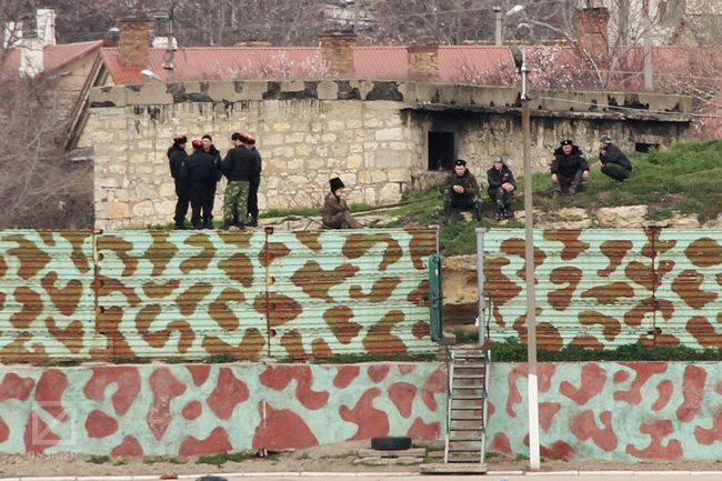 Козаки в Севастополі. Фото: Віктор Гурняк, Insider