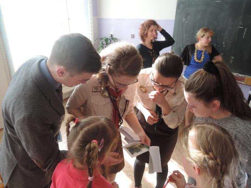 Свято з нагоди 201-ї річниці від дня народження Т. Шевченка в Українській суботній школі ЕРУДИТ у Празі