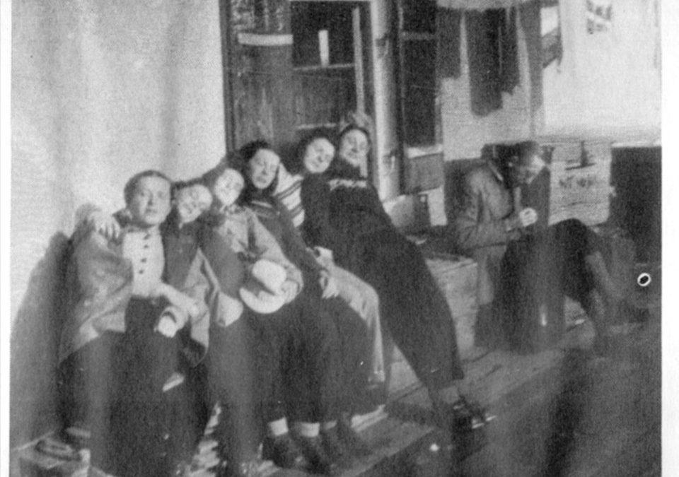 Фото з першого лещетарського табору, Німеччина, 1948
