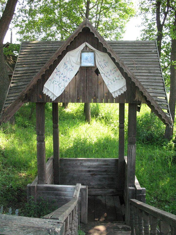 Джерело «Дзюркало» на узбережжі річки Сріблянка, Холодний Яр
