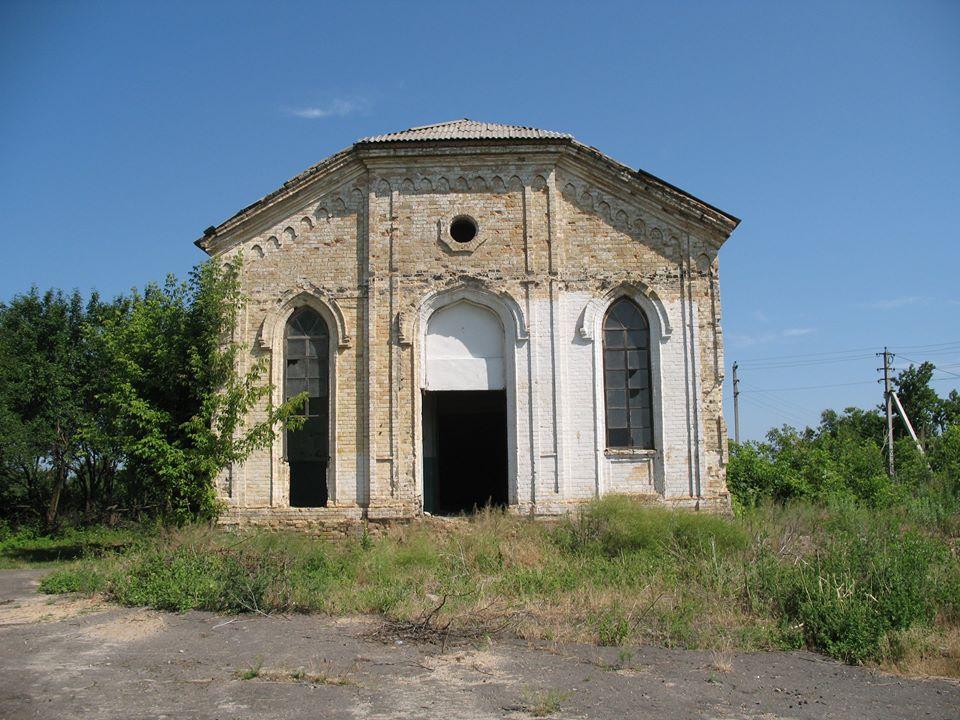 Церква успення святої Богородиці в селі Медведівка, Холодний Яр