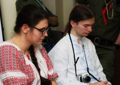 Учасники вишколу виховників у Празі, 26 квітня 2015