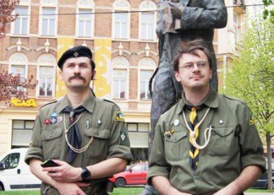 Біля пам`ятника Т. Шевченка, 25 квітня 2015
