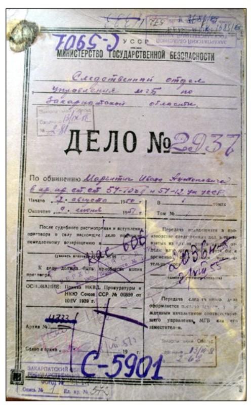 Кримінальна справа о. Івана Маргітичка