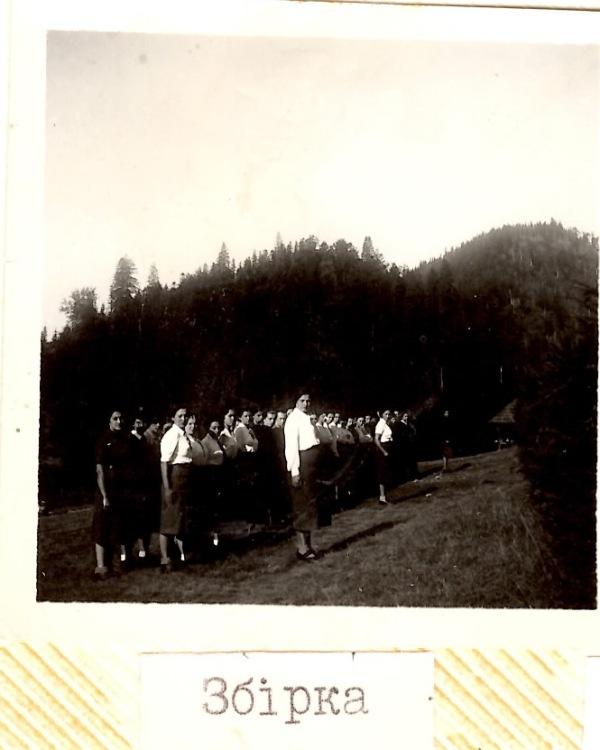 Збірка, Табори на Соколі, 1936 рік