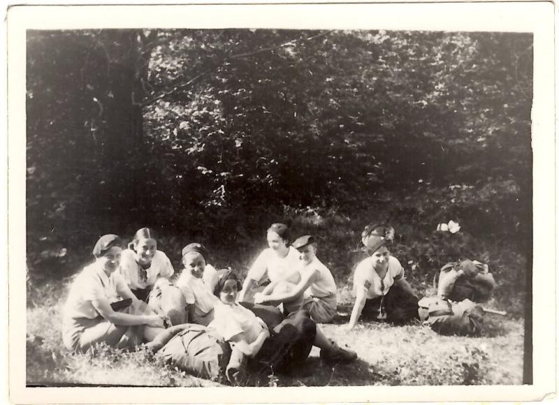 Гутірка, Табори на Соколі, 1936 рік