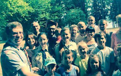 17-19 липня у Новарі, Італія, відбувся пластовий вишкіл