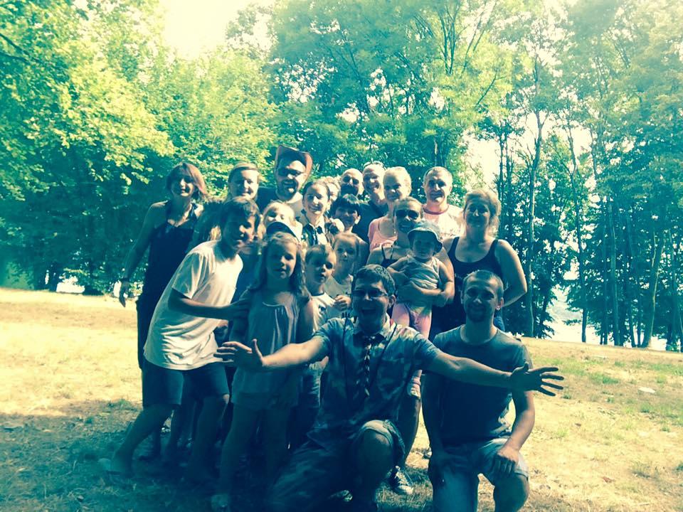 Пластовий вишкіл в Новарі, 17-19 липня 2015