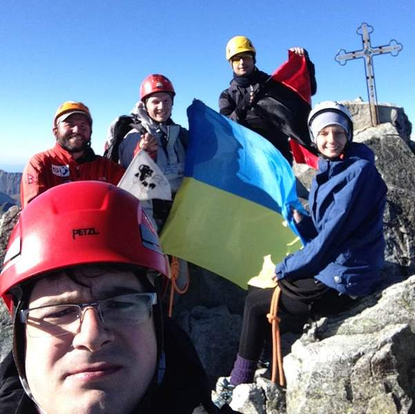 На вершині, 2 жовтня 2015, 15.30, г. Герлах, 2655 м