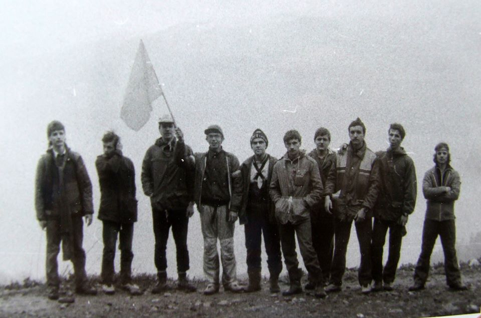 Пластовий З`їзд у Моршині, 1990