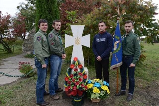 Під час відкриття пам`ятника Осипові Карачевському