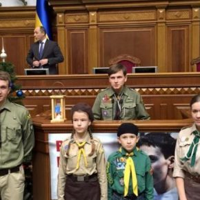Вифлеємський вогонь у Верховній Раді України