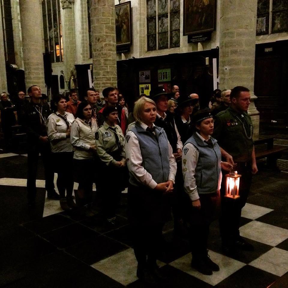 Вогонь в Антверпені
