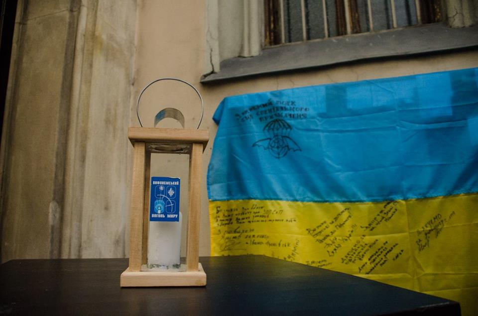 Пластуни отримали Вифлеємський Вогонь Миру, Відень, 12 грудня 2015