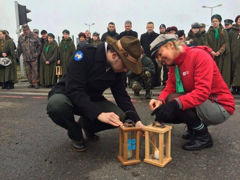 Вифлеємський вогонь на україно-польському кордоні, 2015