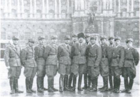 Делегація Карпатської Січі у Відіні