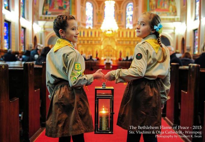 Міжнародна акція Вифлеємського Вогню Миру 2015 (огляд)