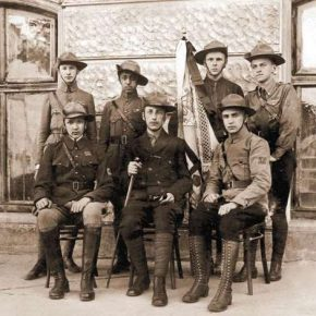 Команда 1 полку ім. Конашевича-Сагайдачного, Львів, 1921