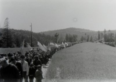 хода до могили вояків УПА