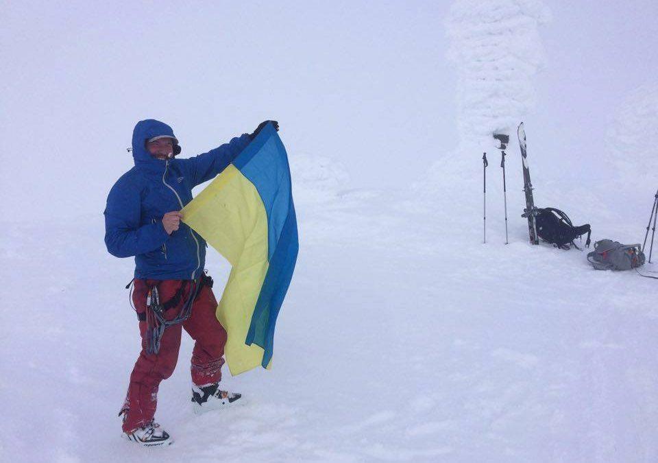 Пластун Ігор Карабін, ВБ, бере участь в експдиції на Шпіцберґен