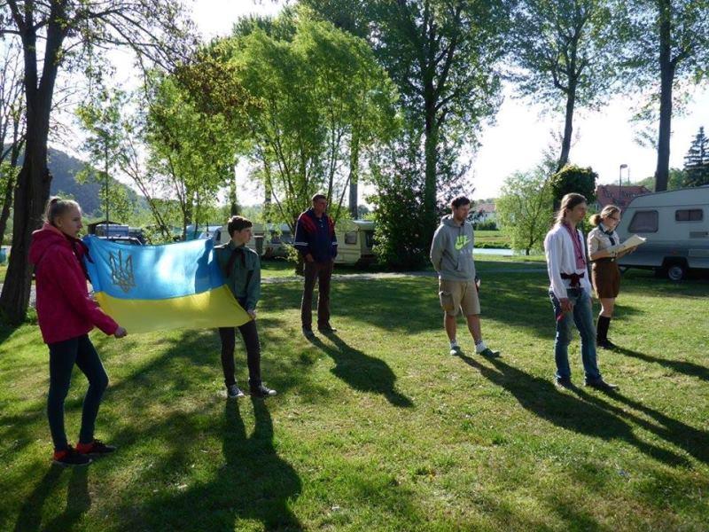 Свято Весни пластунів Чехії 2016