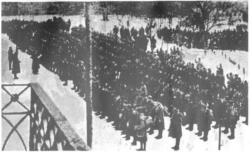 Присяга рекрутів УГА в Коломиї, 1919