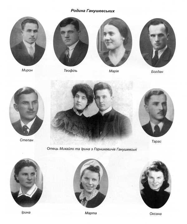 Родина Ганушевських