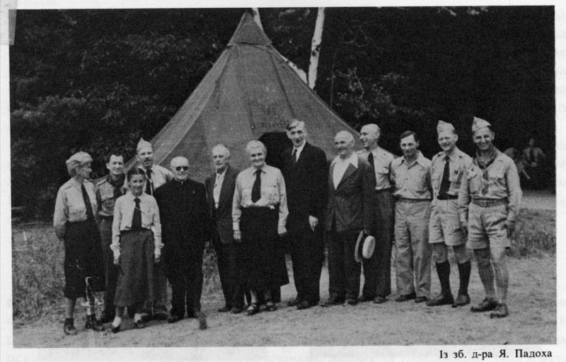 о. Юстин Гірняк, Вовча тропа, США, 1953